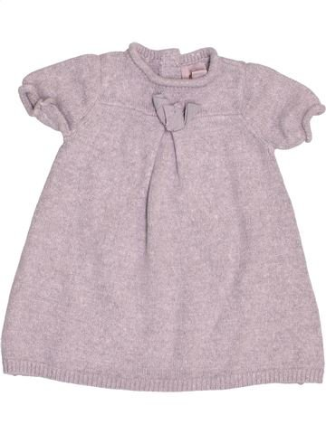 Robe fille CYRILLUS gris 9 mois hiver #1488979_1