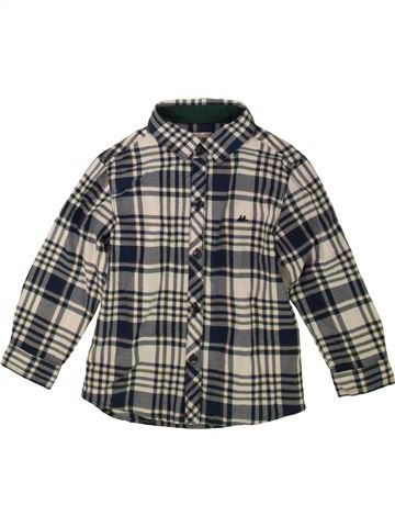 Camisa de manga larga niño DEBENHAMS gris 4 años invierno #1489048_1