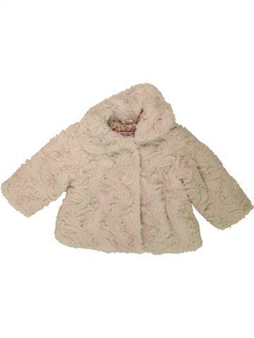 Manteau fille ROCHA LITTLE ROCHA beige 6 mois hiver #1489069_1