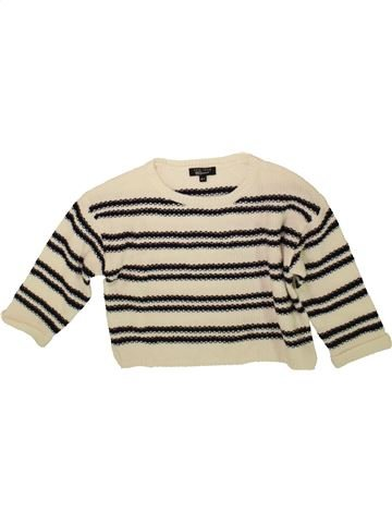 Pull fille NEW LOOK beige 11 ans hiver #1489165_1