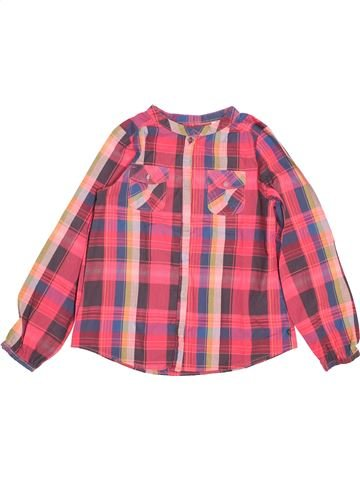 Blouse manches longues fille OKAIDI rose 8 ans hiver #1489175_1