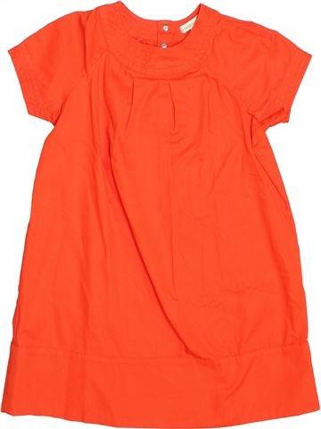 Robe fille VERTBAUDET orange 4 ans été #1489243_1
