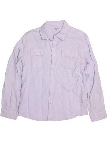 Chemise manches longues garçon MONOPRIX blanc 12 ans été #1489318_1