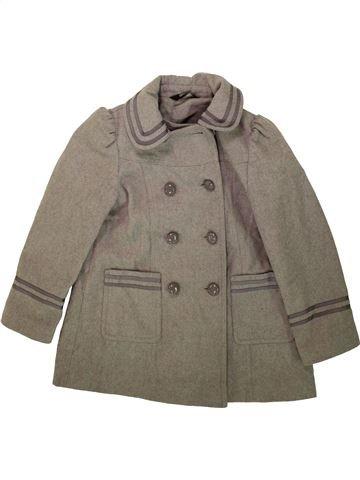 Manteau fille GEORGE marron 7 ans hiver #1489364_1