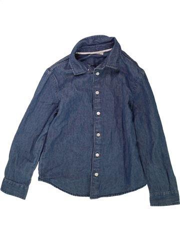 Chemise manches longues garçon PEP&CO bleu 8 ans hiver #1489517_1