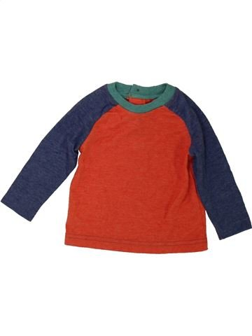 Camiseta de manga larga niño M&CO rojo 6 meses invierno #1489639_1