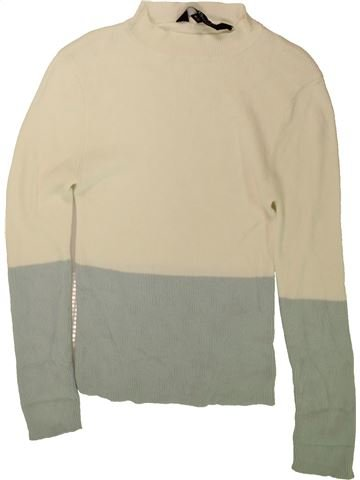 Pull fille NEW LOOK gris 11 ans hiver #1489658_1