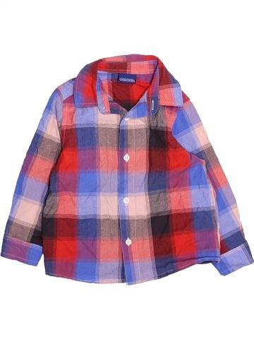 Camisa de manga larga niño CHEROKEE marrón 3 años invierno #1489782_1