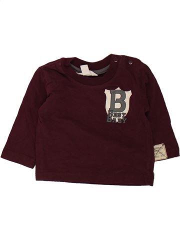 T-shirt manches longues garçon PUMPKIN PATCH marron 6 mois hiver #1489794_1