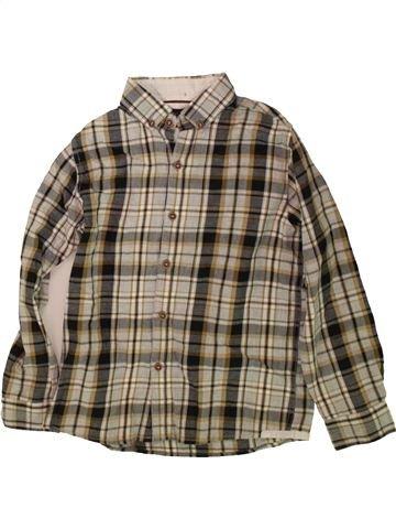 Chemise manches longues garçon NEXT marron 7 ans hiver #1489866_1