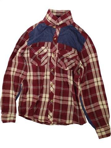 Chemise manches longues garçon PRIMARK violet 13 ans hiver #1489867_1