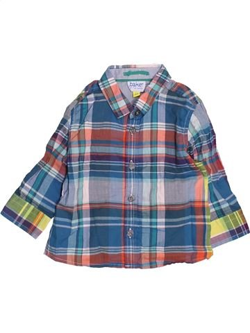 Camisa de manga larga niño TED BAKER gris 6 meses invierno #1489954_1