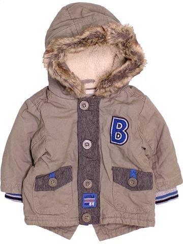 Manteau garçon LADYBIRD marron 3 mois hiver #1489976_1