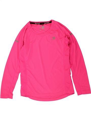 T-shirt manches longues fille KARRIMOR rose 13 ans hiver #1490155_1