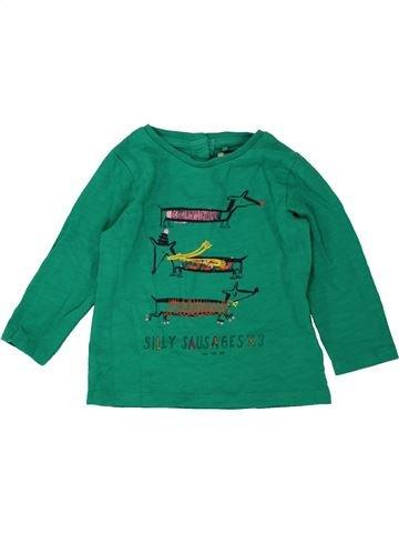 T-shirt manches longues garçon NEXT vert 12 mois hiver #1490171_1