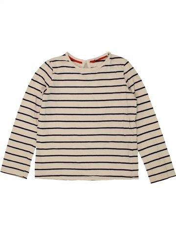 T-shirt manches longues fille MARKS & SPENCER bleu 6 ans hiver #1490204_1