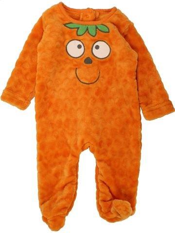 Robe de chambre garçon MATALAN orange 3 mois hiver #1490432_1