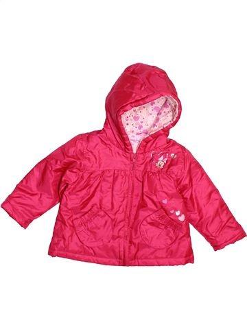 Manteau fille DISNEY rouge 6 mois hiver #1490433_1