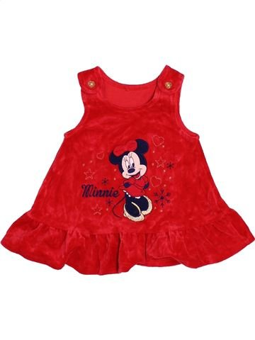 Robe fille GEORGE rouge 3 mois hiver #1490546_1