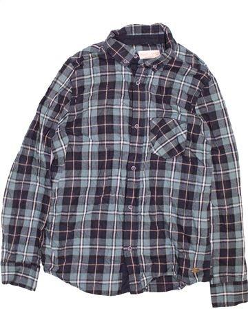 Camisa de manga larga niño ZARA azul 14 años invierno #1490601_1
