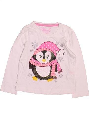 T-shirt manches longues fille PRIMARK rose 3 ans hiver #1490616_1