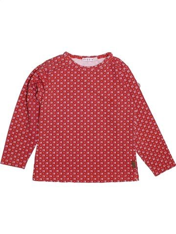 T-shirt manches longues fille NOPPIES orange 4 ans hiver #1490733_1
