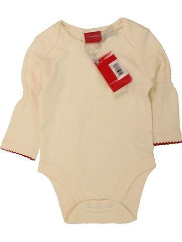 T-shirt manches longues fille MINI CLUB beige 6 mois hiver #1490771_1