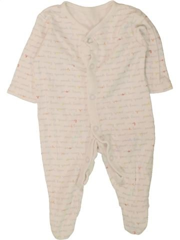 Pyjama 1 pièce garçon GEORGE bleu 1 mois été #1490831_1