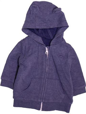 Sweat garçon GEORGE violet 6 mois hiver #1490861_1