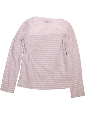 T-shirt manches longues fille MARKS & SPENCER rose 10 ans hiver #1490924_1