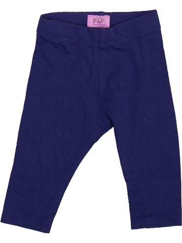 Legging fille F&F bleu 6 mois été #1491013_1