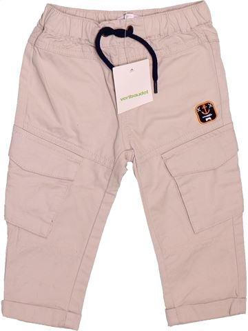 Pantalon garçon VERTBAUDET rose 12 mois été #1491048_1