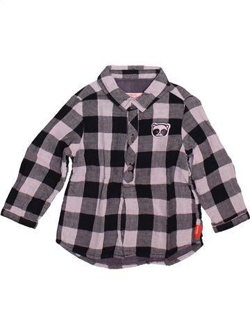 Camisa de manga larga niño DPAM gris 12 meses invierno #1491063_1