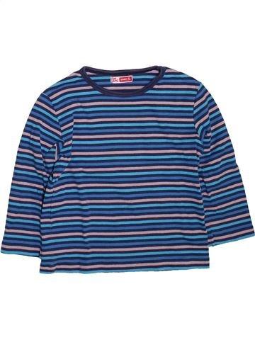 T-shirt manches longues garçon DPAM bleu 3 ans hiver #1491212_1