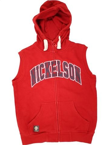 Gilet garçon NICKELSON rouge 13 ans hiver #1491303_1