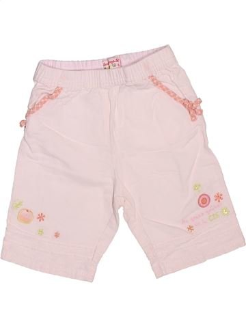 Pantalón corto niña LA COMPAGNIE DES PETITS rosa 18 meses verano #1491482_1