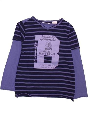 T-shirt manches longues garçon LA REDOUTE CRÉATION bleu 4 ans hiver #1491509_1
