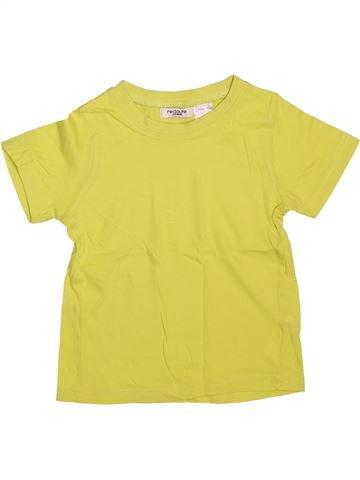 Camiseta de manga corta niño LA REDOUTE CRÉATION amarillo 4 años verano #1491522_1