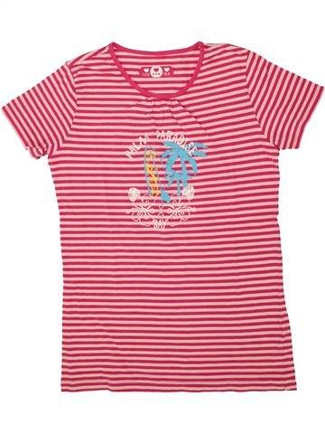 T-shirt manches courtes fille SANS MARQUE rose 14 ans été #1491776_1