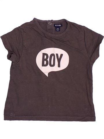 T-shirt manches courtes garçon KIABI violet 12 mois été #1491819_1