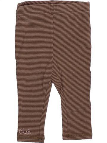 Legging niña OKAIDI marrón 6 meses invierno #1491914_1