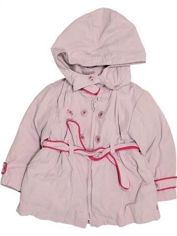 Anorak-Trinchera niña OKAIDI rosa 18 meses verano #1492009_1