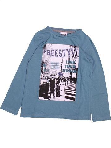 T-shirt manches longues garçon 3 POMMES bleu 5 ans hiver #1492035_1