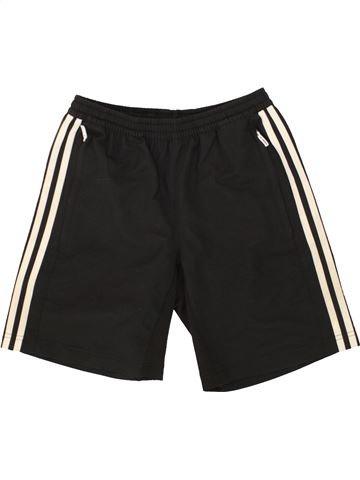 Pantalon corto deportivos niño ADIDAS negro 12 años verano #1492062_1
