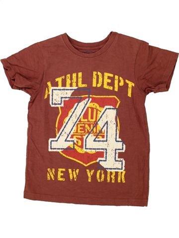 T-shirt manches courtes garçon LADYBIRD marron 6 ans été #1492147_1