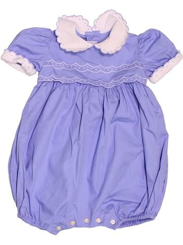 Combinación corta niña CYRILLUS azul 6 meses verano #1492252_1