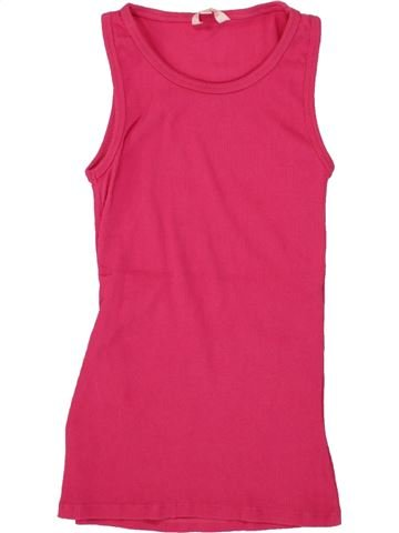Camiseta sin mangas niña MISS E-VIE rosa 12 años verano #1492341_1