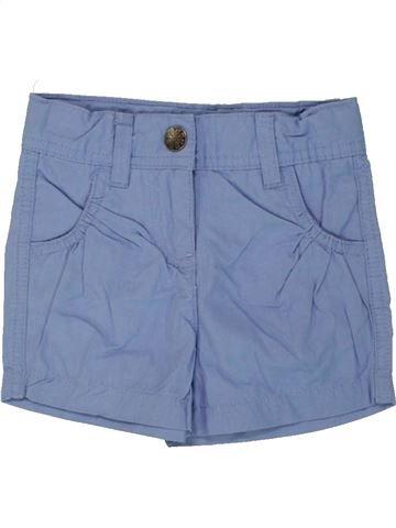 Short-Bermudas niña IMPIDIMPI azul 18 meses verano #1492380_1