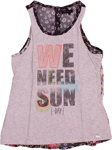 Camiseta sin mangas niña IKKS rosa 8 años verano #1492383_1