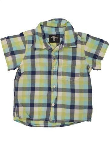 Chemise manches courtes garçon H&M gris 2 ans été #1492502_1
